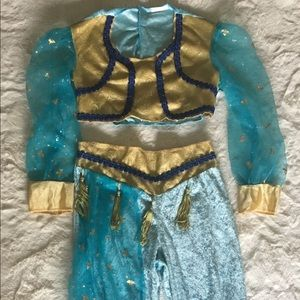 Jasmine Dress Up Costume Aladdin